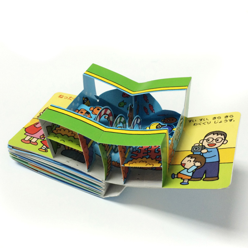 custom children book printing with pop ups