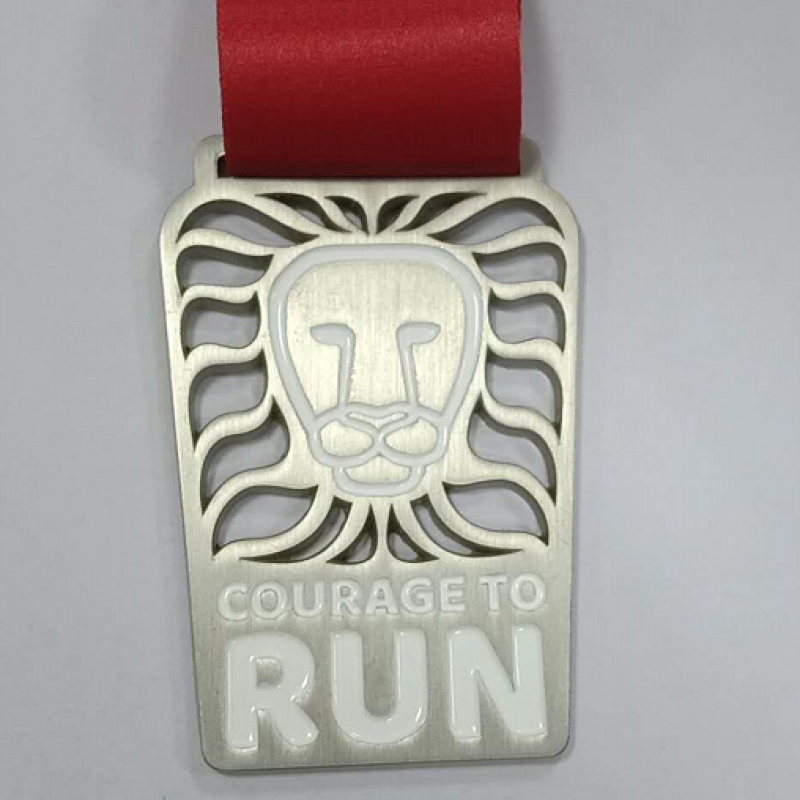 Courage To Run Race Medal 2018