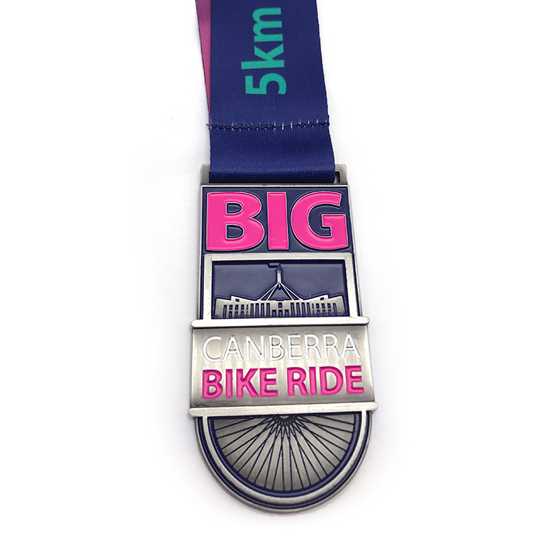 Canberra Bike Ride Medal