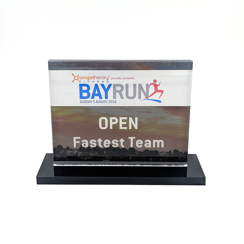 Trophy for Bay Run 2018
